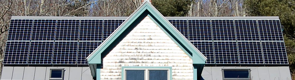 Rooftop Solar Panels Installed